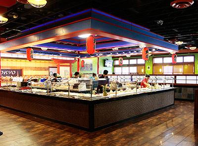японская кухня в сша, суши в америке, рестораны